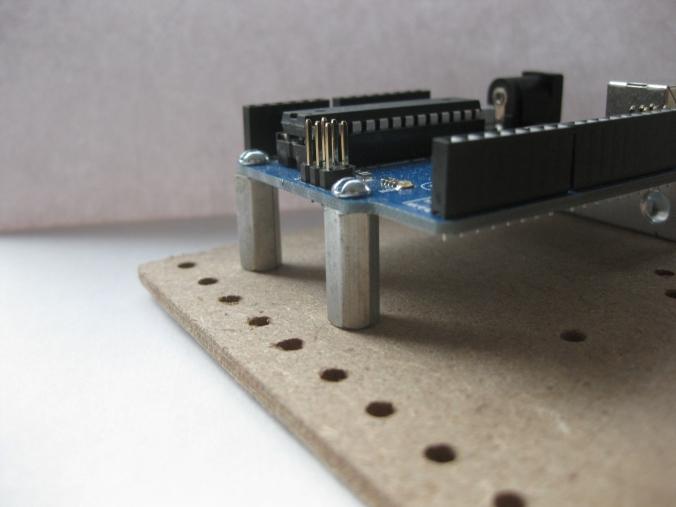 Arduino with Standoffs