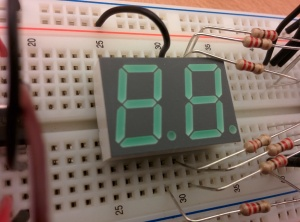 Seven-Segment LED Display